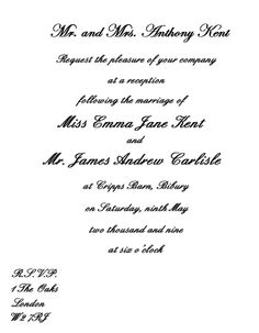 wedding reception invitations | wedding reception only invitation wording: images photos