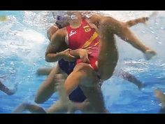 Women's Water Polo Dirty play - (HD) What happens underwater !!!