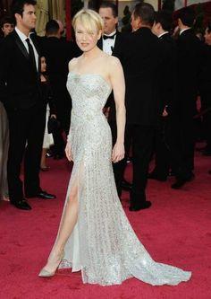 Renee Zellweger in Carolina Herrera at the Oscars, 2008.