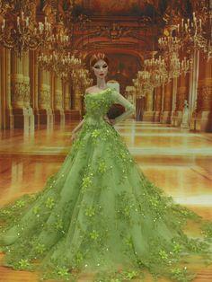 Evening Dress 62 for Fashion Royalty Silkstone Dolls by T D Fashion | eBay