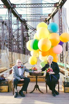 There are a few things more festive and fun than balloons. It's why they're used in almost every celebration ever, and now, balloons are making their way into weddings in seriously stunning fashion.