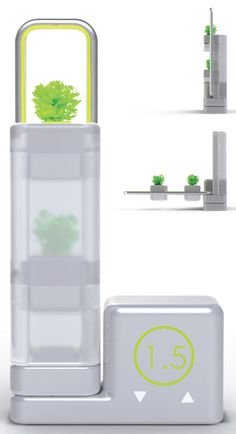 Plan't – Solar Energy Garden by Min Soon Kim is a hydroponic cultivating machine that can be used in apartments to grow vegetables right on your window.