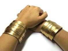 Bracelet Fasce bronze by Monica Castiglioni