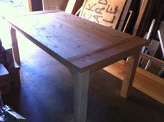 Most Unique Farmhouse Style Furniture Plans You Have To See — BreakPR Farm Table Plans, Build A Farmhouse Table, Farmhouse Style Furniture, Build A Table, Furniture Plans, Diy Furniture, Rustic Furniture, Diy Dining Table, Kitchen Tables