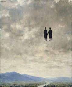 René Magritte. L'Art de la Conversation. 1963.