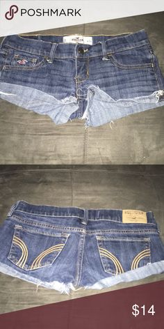 Hollister sz 0 Hollister sz 0 good condition Hollister Shorts