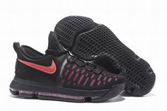 "quality design 1eb2b fd6e3 Buy ""Aunt Pearl"" Nike KD 9 Black Hot Punch Men s Basketball Shoes Authentic  from Reliable ""Aunt Pearl"" Nike KD 9 Black Hot Punch Men s Basketball Shoes  ..."