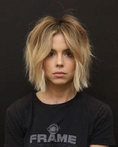 15 Cute Haircuts That Will Inspire You To Chop Your Strands RN - - 15 Cute Haircuts That Will Inspire You To Chop Your Strands RN Hairstyles Cute Haircut Ideas; Inspiration For Your Next Chop In 2019 Edgy Bob Hairstyles, Pretty Hairstyles, Hair Dos, My Hair, Medium Hair Styles, Curly Hair Styles, Pixie Haircut Styles, Blonde Hair Inspiration, Cute Haircuts