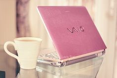 I love my pink Vaio laptop. Its so cute, but it also gets the job done-and quite well. nothing better than a lightweight, cute, and effective computer for a college girl.