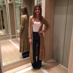 Maria Rudge Maxi cardigan: Galeria Tricot