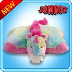 Jumbo Rainbow Unicorn Pillow Pet