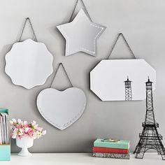 Vintage Frameless Mirrors | PBteen