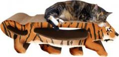 Our Tiger features close to 3 feet of scratching surface and also comes with a bonus scratcher that is easily removed for more scratching! Large Tiger Combo Scratcher $89.95