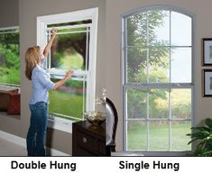 single hung vs double hung