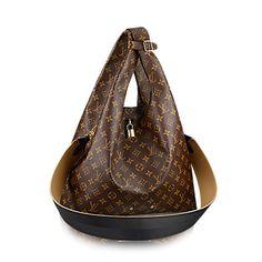 LOUIS VUITTON Atlantis Mm. #louisvuitton #bags #shoulder bags #hand bags #canvas #lining #metallic #