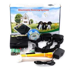 Newest Underground Waterproof 2 Shock Collar Electric Dog Fence Fencing System E *** See this great product. (This is an affiliate link) #DogTrainingAids