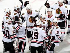 The Blackhawks bested the Hurricanes in the shootout, winning 3-2, marking the franchise's 2,500th win. #AndCounting