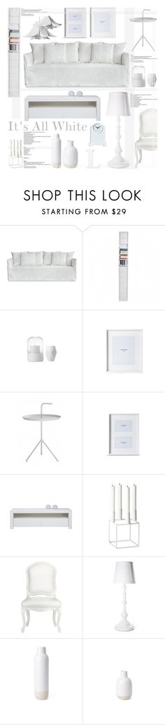 """""""It's All White"""" by reddotdaily ❤ liked on Polyvore featuring interior, interiors, interior design, home, home decor, interior decorating, By Lassen, CB2, Moooi and Karlsson"""
