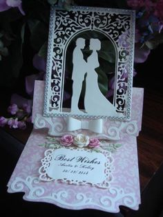Wedding Card by ranalouwho - Cards and Paper Crafts at Splitcoaststampers