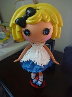 Custom Lalaloopsy Doll Alice and Wonderland