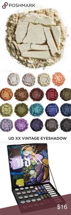 Urban Decay Snow Eyeshadow New!!!  Urban Decay Full Sized Snow Eyeshadow  Part of the 20 Years of Beauty With an Edge Vintage Collection. Urban Decay Makeup Eyeshadow