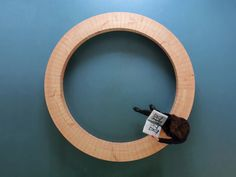 wooden ring bench