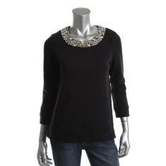 Juicy Couture Navy Fleece Scoop Neck Long Sleeves Sweatshirt Top #JuicyCouture #Fashion