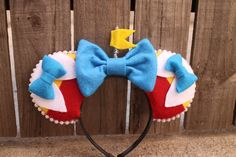 Tweedle Dee/Tweedle Dum-Inspired Mouse Ear by ModernMouseBoutique