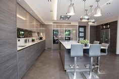 Read More About New Kitchen Remodel Do It Yourself Modern Kitchen Interiors, Luxury Kitchen Design, Best Kitchen Designs, Luxury Kitchens, Interior Design Kitchen, Cool Kitchens, Open Plan Kitchen Living Room, Home Decor Kitchen, New Kitchen