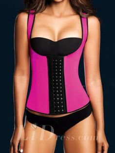 5da8e2e7c2c Rose Color Shoulder Belt Women Latex Rubber Waist Training Cincher  Underbust Corset Body Shaper Shapewear Lidbjjy1605261011