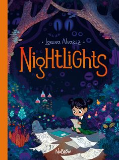 Absolutely stunning illustrations and a charming, if creepy, story. Nightlights by Lorena Alvarez Gomez is on Kirsty's read shelf. Book Cover Art, Book Cover Design, Book Art, Buch Design, Beautiful Book Covers, Nightlights, Children's Book Illustration, Forest Illustration, Book Illustrations