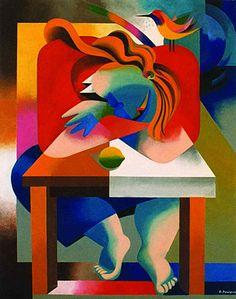 """Repouso na mesa"" Júlio Pomar obras - Pesquisa Google Modern Art, Contemporary Art, Abstract Art Images, Cubism Art, Paint Designs, American Art, Art Reference, Amazing Art, Illustration"
