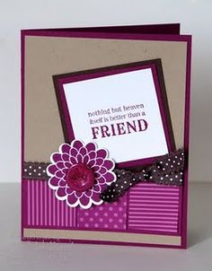 Very cute, quick card.