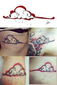 1000 images about boaz tattoo inspiration on pinterest for Cloud 9 tattoo