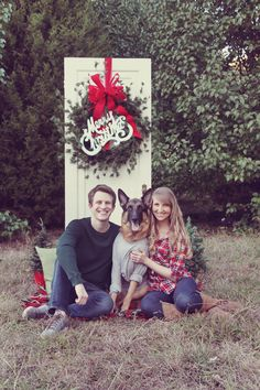 Christmas Photos with dog - Absolutely Bositively