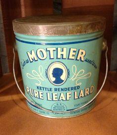Mother Lard Tin