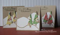 Melawi'scrap: Cartes de Noël