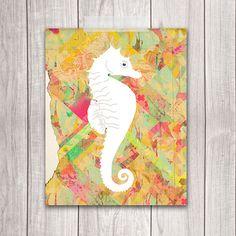 Seahorse Wall Art at Dream Big Printables on Etsy!