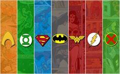 Free justice league wallpaper by Viola Ross Dc Comics Heroes, Marvel Dc Comics, Marvel Xmen, Aquaman, Smallville, Superman, Gotham Batman, Batman Art, Batman Robin