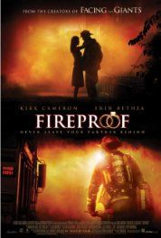 "Fireproof (2008) In an attempt to save his marriage, a firefighter uses a 40-day experiment known as ""The Love Dare""."