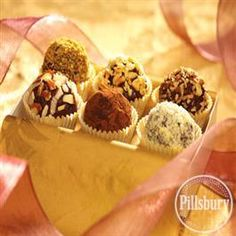 Easy Truffles from Pillsbury™ Baking are the perfect treat for a snack or dessert!