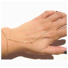 14k Hand Chain