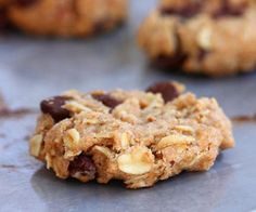 Chocolate Chip Cowboy Cookies by Chocolate Covered Katie Healthy Cookie Recipes, Holiday Cookie Recipes, Healthy Cookies, Healthy Snacks, Snack Recipes, Healthy Eating, Healthy Dinners, Holiday Cookies, Choco Chips
