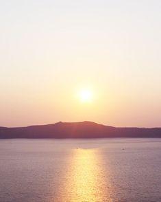Greece Photography Sunset In Santorini Sunset Photograph