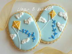 Theta Kite cookies