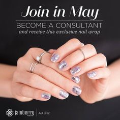 May Madness Recruiting & Joining Incentive - Australia/NZ - Jam Beautiful. Join Jamberry in May for this bonus exclusive wrap.