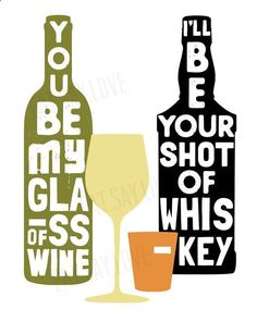 You be My Glass of Wine country song lyrics by EatSayLove on Etsy. Love this print