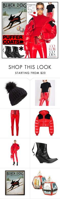 """""""Stay Warm: Puffer Coats"""" by yours-styling-best-friend ❤ liked on Polyvore featuring Miss Selfridge, Unravel and Harrods"""