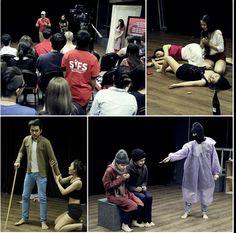Những tiết mục tại buổi báo cáo của lớp diễn xuất diễn ra ngày 26.12 tại SIFS!