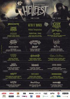 Hellfest 2012 Metal Festival - All Metal Festivals